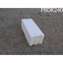 Akyto betono blokelis PORITAS PBDK 240 600x240x200